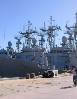 Spanish Armada – Rota naval base