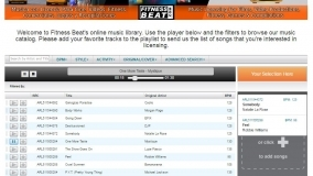 Online music catalog and management